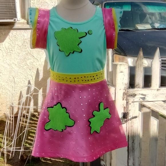 5a2cc43f9 Handmade Dresses | Jojo Siwa Slime Dress | Poshmark